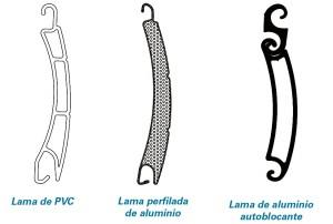 tipos de lama cajón rolaplus