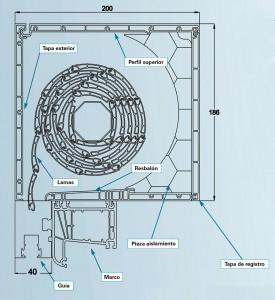 sección cajon rollaplus