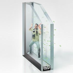 vidrio ventanas acústico